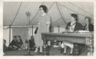 Image 21 of 23 : 1959 Speech Day - Helen Wright making the vote of thanks to the guest speaker