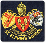 St Elphin's School uniform - blazer badge photo