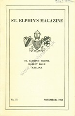 Link to 1953 School magazine