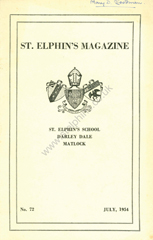 Link to 1954 School magazine